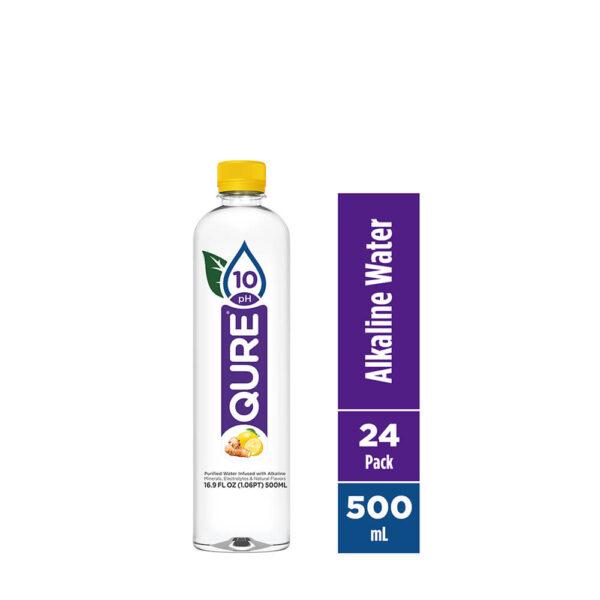 Alkaline Water 500 ML Lemon Ginger