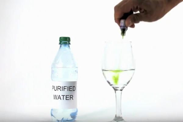 Purified water media