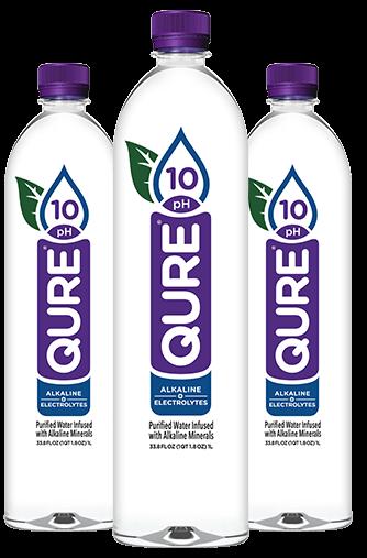 Qure Alkaline Water Bottles for Blog