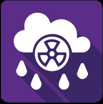 Acid Rain Logo - Alkaline Water