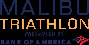Malibu Triathlon Logo presented by Bank of America