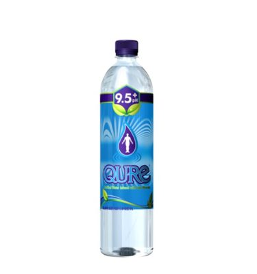 QURE Water Bottle Clear-classic