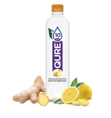 buy ionized water lemon ginger