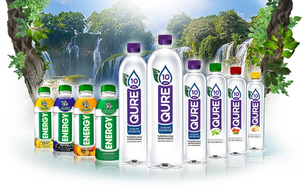Bottled Alkaline Waters