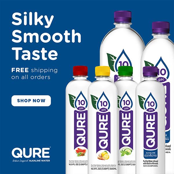 Qure Alkaline Water Ad | Alkaline Water Delivery