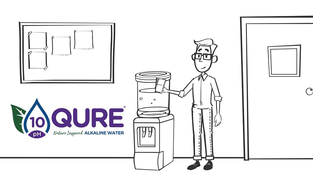 Qure Alkaline Water Video Thumbnail